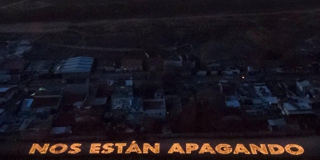 Las familias de la Cañada Real, sin luz desde octubre