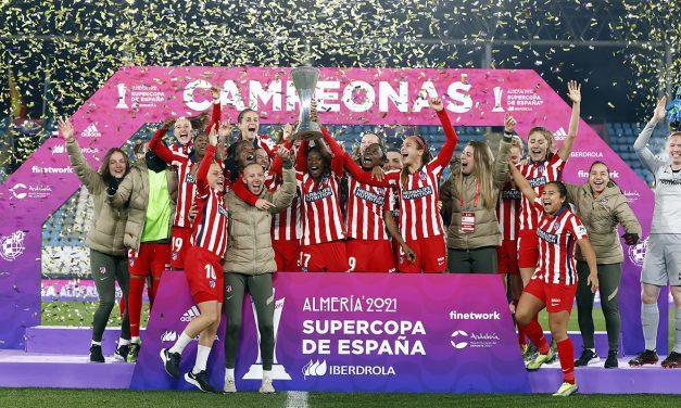 El Atlético de Madrid Femenino se proclama campeón de la Supercopa de España