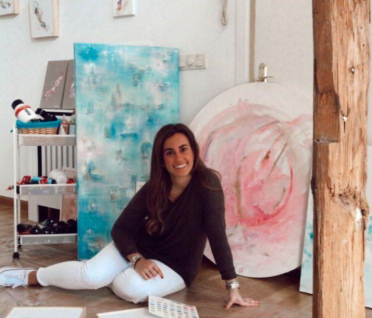 Teresa Artime: «Para pintar se necesitan ganas, ilusión y constancia»