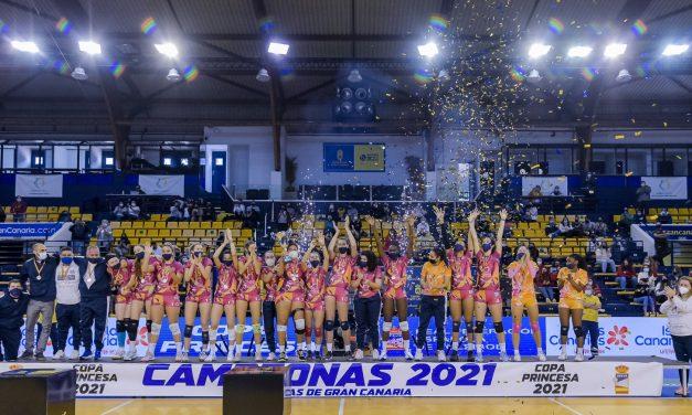CV CCO 7 Palmas se corona en la Copa Princesa de voleibol