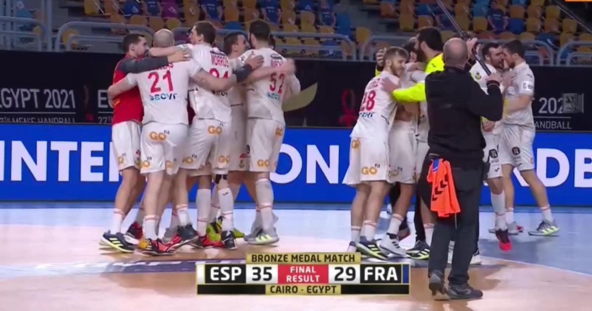 España se hace con el bronce en el Mundial de Balonmano