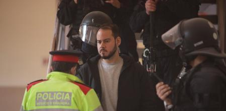 Pablo Hasél detenido en la Universidad de Lleida