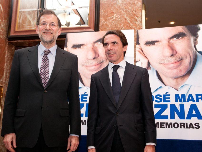 Rajoy y Aznar declaran en el juicio por la «Caja B» del PP