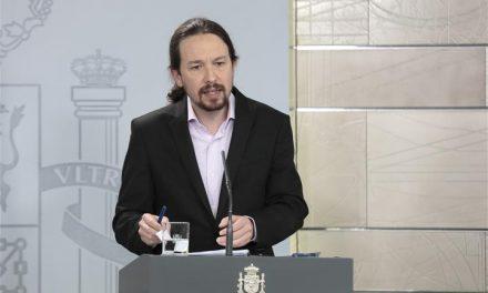 Pablo Iglesias abandona el Gobierno para presentarse a la presidencia de la Comunidad de Madrid