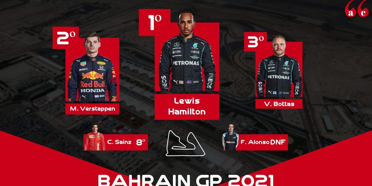 Hamilton logra una polémica victoria en el Gran Premio de Baréin de Fórmula 1