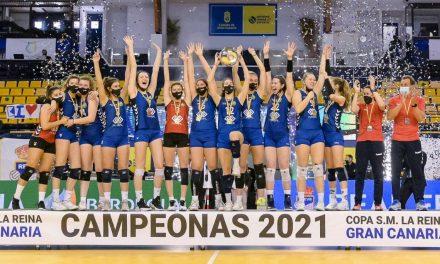 El Feel Volley Alcobendas se alza con la primera Copa de la Reina de su historia