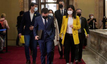 Junts vuelve a truncar el intento de Pere Aragonés de ser investido president de la Generalitat