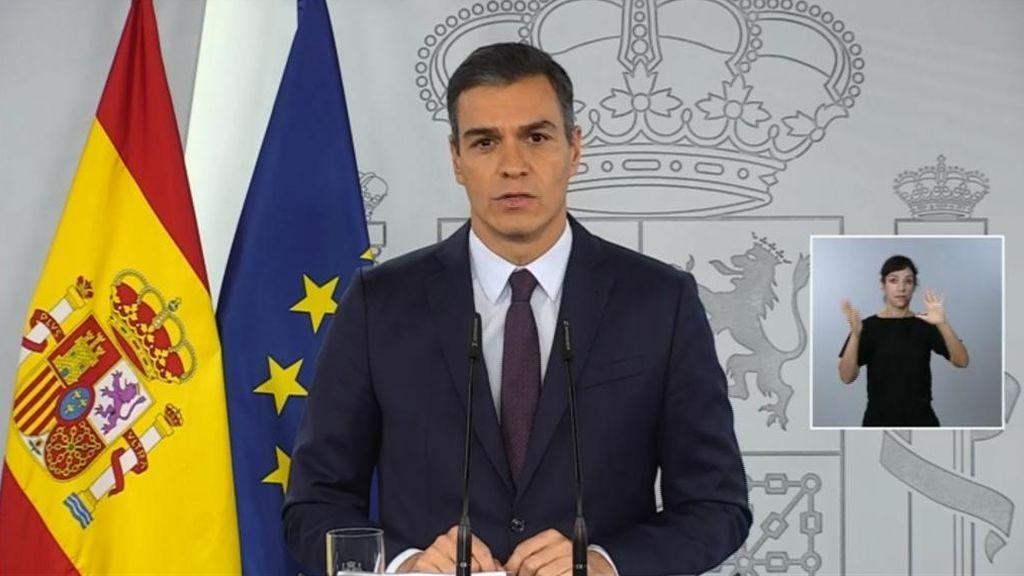 Sánchez cree que no será necesario alargar el estado de alarma