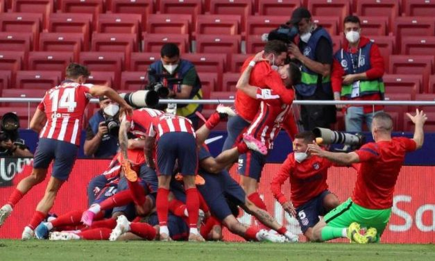 El Atlético de Madrid se proclama campeón de La Liga por undécima vez