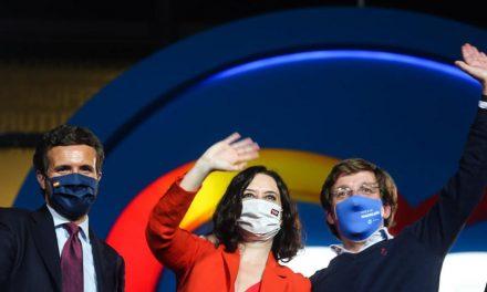 Ayuso domina en las elecciones madrileñas y consolida su mandato