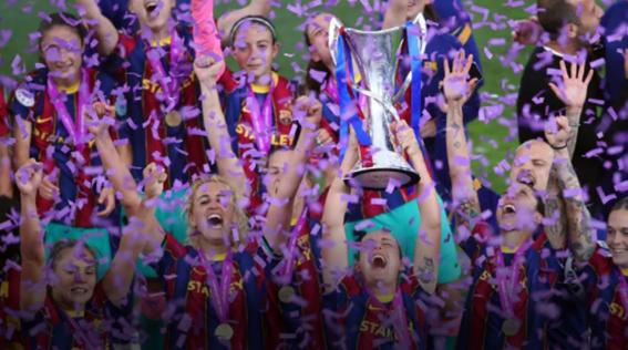 El Barça se hace con su primera Champions femenina tras vencer 0-4 al Chelsea