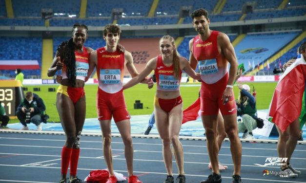 España consigue plaza olímpica en el mundial de relevos de atletismo