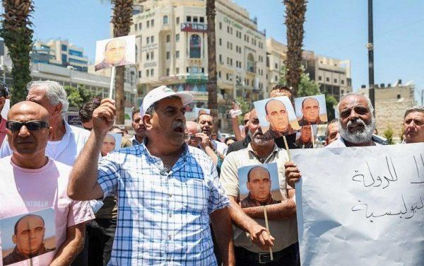 Protestas en Palestina contra el gobierno de Abbas