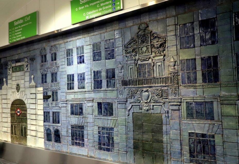 La nueva estación de Gran Vía supone un viaje cultural al pasado