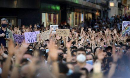 Los españoles salen a la calle para pedir justicia para Samuel