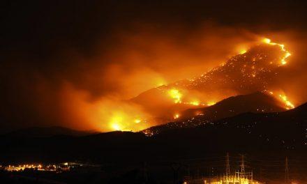 La lluvia permite que se controle el incendio de Málaga