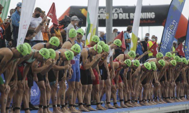 España se corona en el Campeonato de Europa de Triatlón