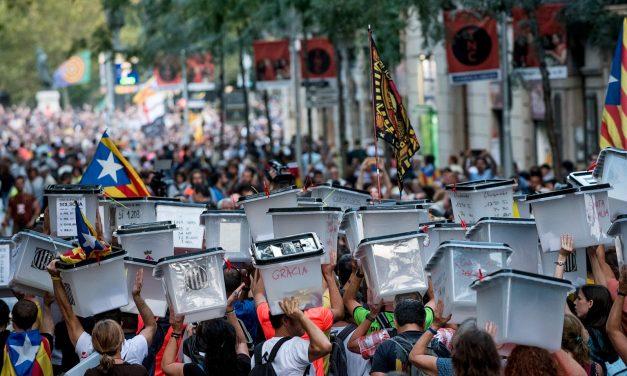 Se cumplen cuatro años del referéndum del 1 de octubre en Cataluña
