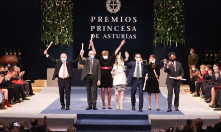 Se celebran los Premios Princesa de Asturias 2021